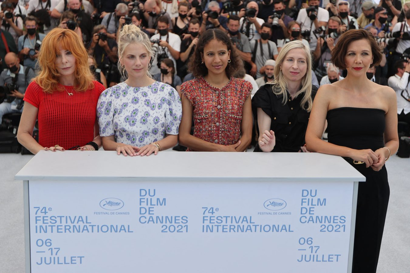 Who are the five women jury members at Cannes Film Festival 2021?