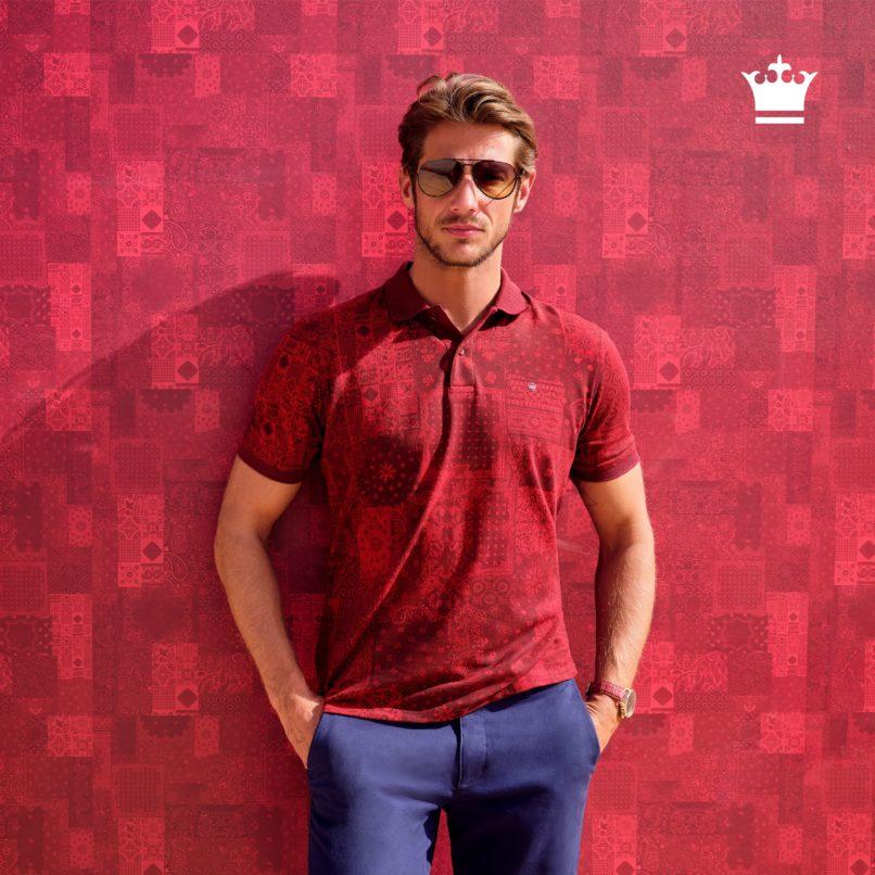 Week 1, carousel image 2, red t-shirt 1080_1080