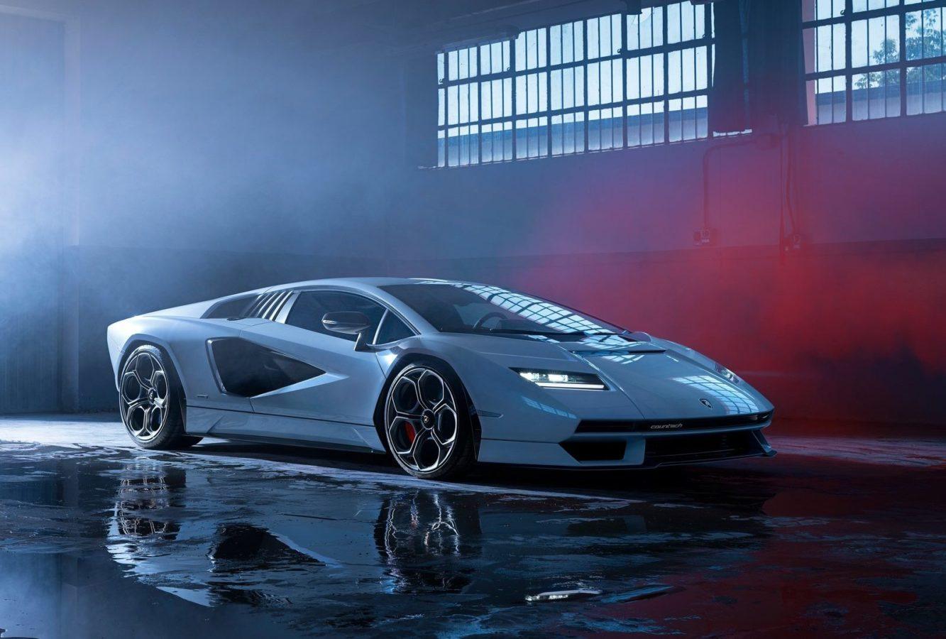 Lamborghini revives the legendary Countach as a $2.6 million nostalgia bomb