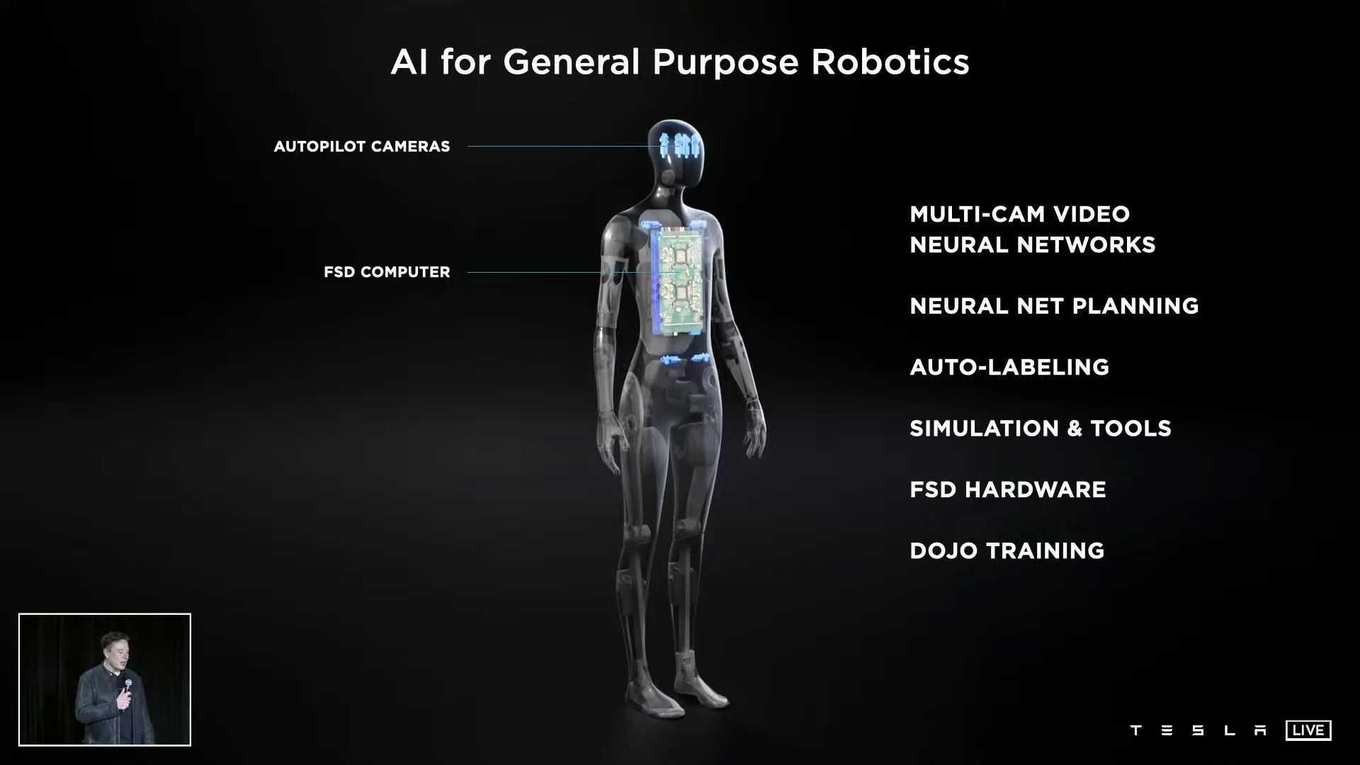 tesla robot bot