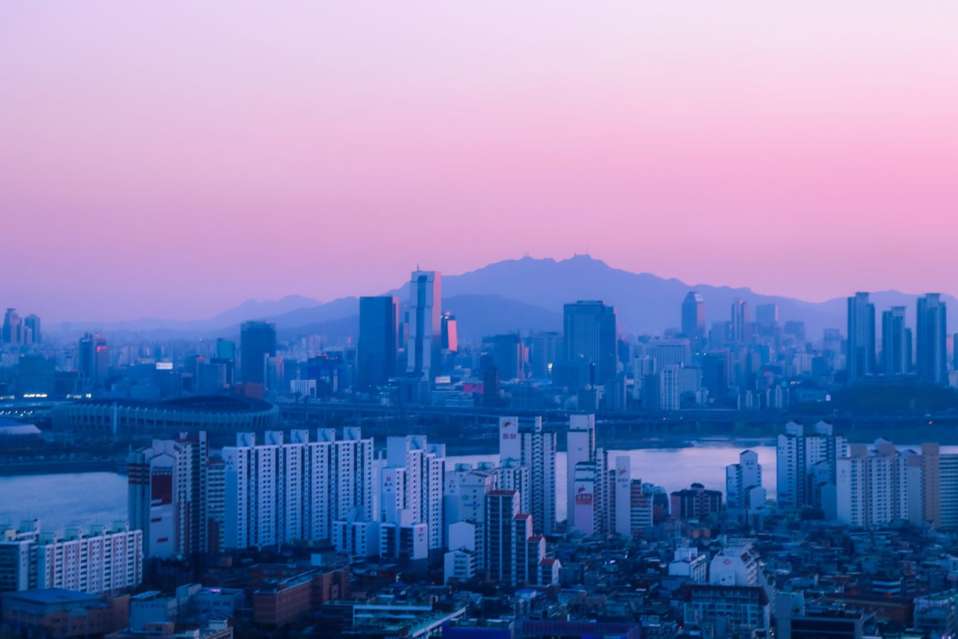 The Korean pink sky trend that's showing up all over your Instagram feed