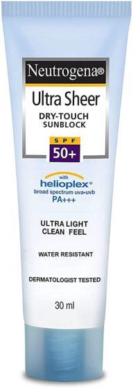 Sunscreenlotions