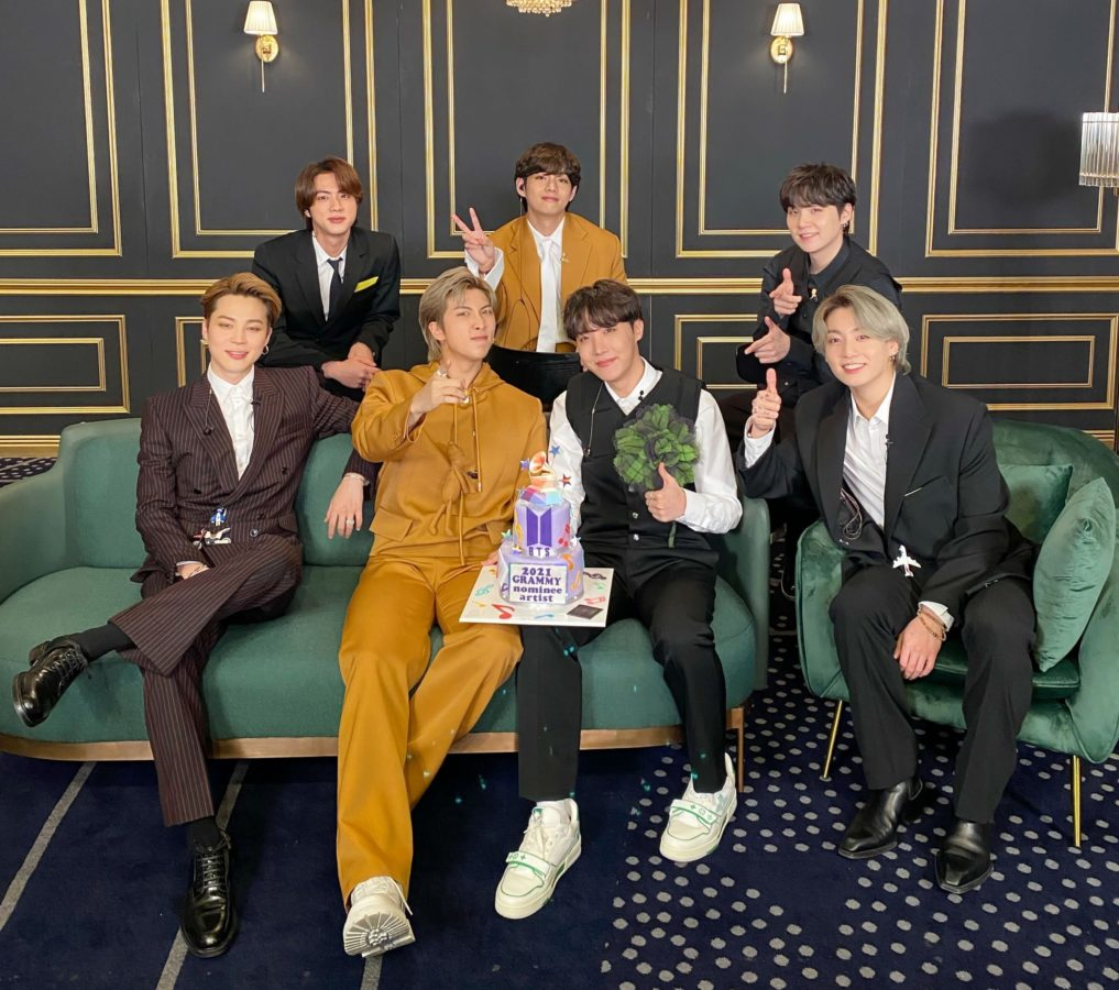 BTS, Katy Perry, Dolly Parton to auction their Grammys 2021 outfits for charity
