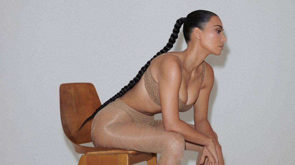 Fendi x SKIMS collection featuring Kim Kardashian is out now — see every look here